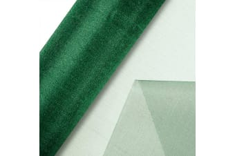 Club Green Organza 10 Metre Snow Sheer Roll (Bottle Green)