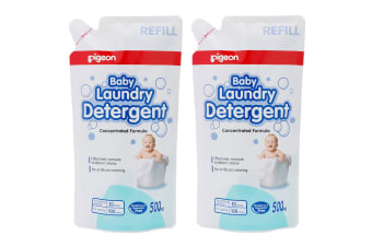 Pigeon 1L Laundry Detergent Liquid Refill for Sensitive Skin Baby Clothes