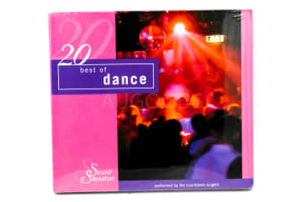 20 Best of Dance BRAND NEW SEALED MUSIC ALBUM CD - AU STOCK
