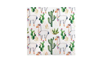 Coastal Classics Luncheon Napkin 20pk Happy Llama