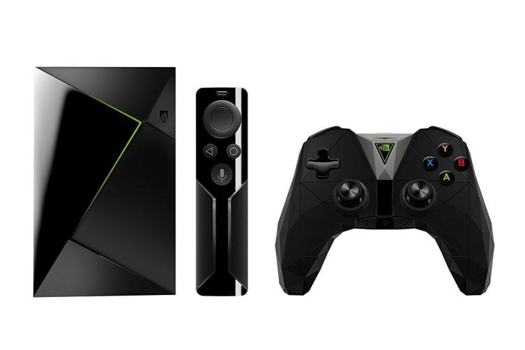 NVIDIA Shield TV Streaming Media Player with Remote & Controller (945-12897-2506-000)