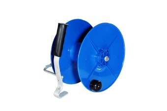 Wind Up Reel Electric Geared UV Stabilized Fence Reel with Crank Handle & Galvanized Hook