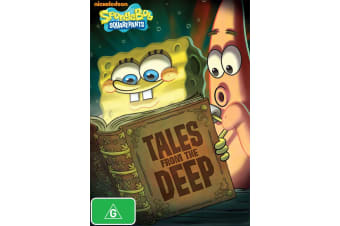 SpongeBob Squarepants Tales from the Deep DVD Region 4