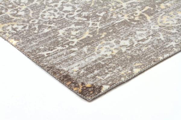 Faded Modern Brown Rug 220x150cm