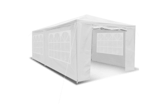 3x6m Outdoor Fully-Waterproof Party Marquee Tent-White