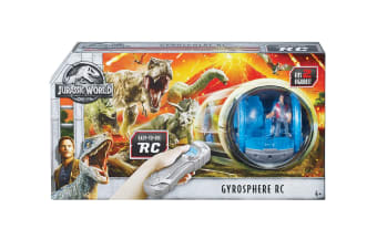 Matchbox Jurassic World Remote Controlled Gyrosphere Vehicle