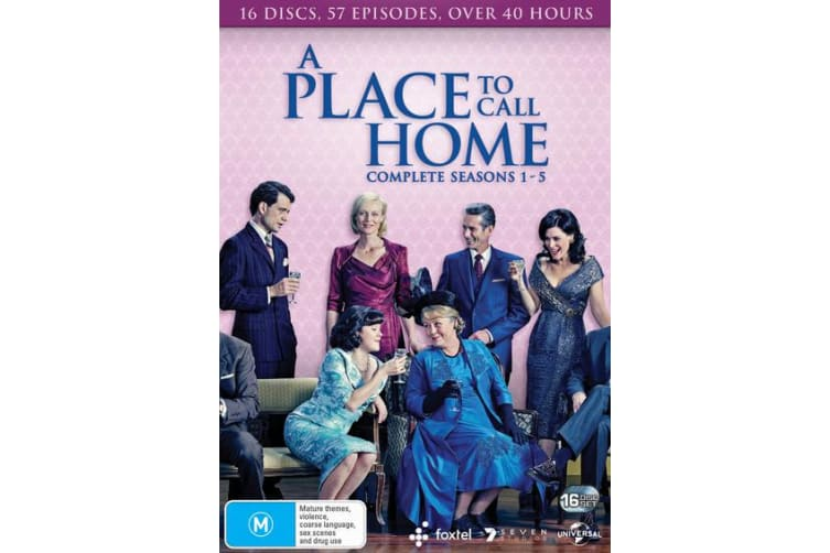 A Place to Call Home Complete Series 1 to Five Box Set DVD Region 4