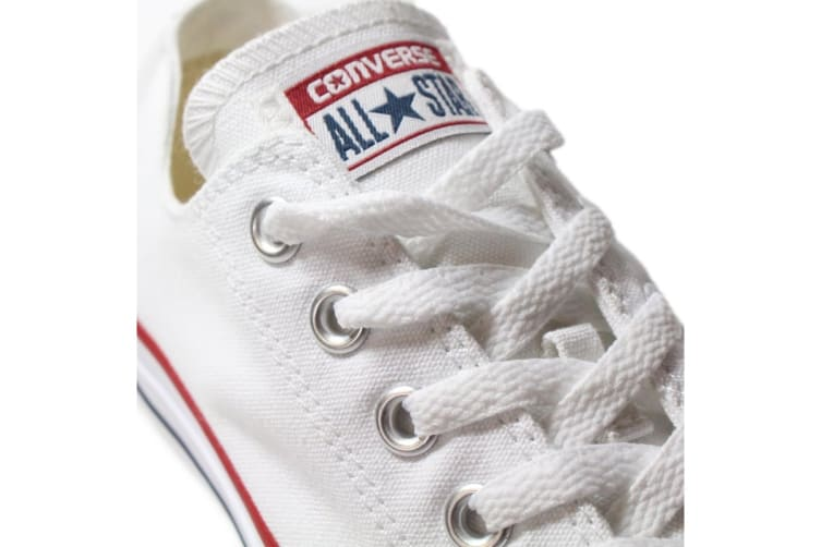 Converse Chuck Taylor All Star Ox Lo (Optical White, US Mens 6 / US Womens 8)