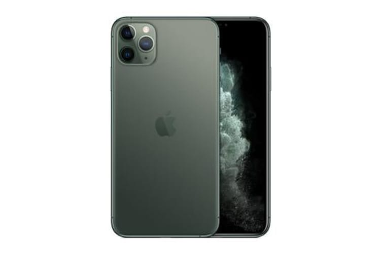 Brand New Apple iPhone 11 Pro Max 256GB 4G LTE Midnight Green (12MTH AU WTY)