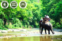 NEPAL: 14 Day Nepal trip with Rafting and Jungle Safari for Two