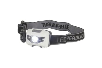 TechBrands 3W LED Head Torch w/ 2 Red LEDs