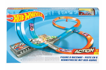Hot Wheels Action Figure 8 Raceway