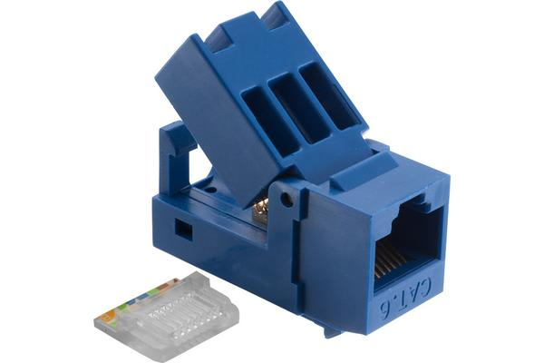 Platinum Tools Ez-Snapjack Cat6 Blue