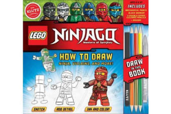 LEGO NINJAGO - How to Draw Ninja, Villains and More