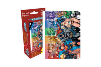 DC Comics Justice League 100pc Pocket Puzzle