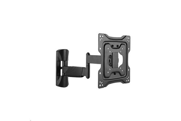 "BRATECK 23-42"" Full Motion TV Wall  Mount. Tilt +5  -15"