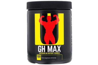 Universal Nutrition GH Max Superior GH Support Formula - 180 Tablets