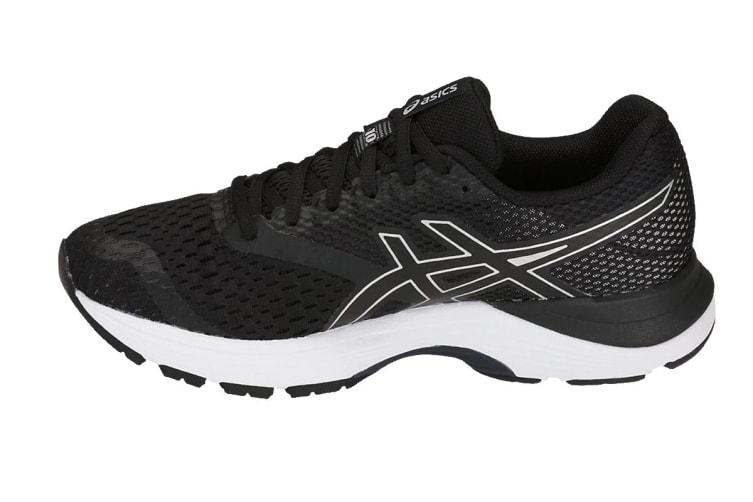 ASICS Women's GEL-Pulse 10 Running Shoe (Black/Silver, Size 9.5)