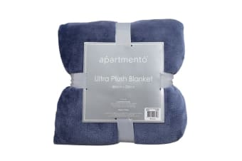Apartmento Ultra Soft Blanket (Queen/Indigo)