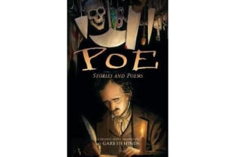 Poe: Stories and Poems - A Graphic Novel Adaptation by Gareth Hinds