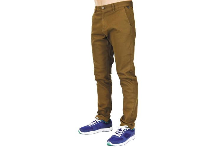Carve Chinos Mens Pants Tabacco 32