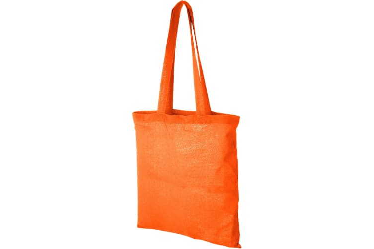 Bullet Carolina Cotton Tote (Pack of 2) (Orange) (38 x 42 cm)