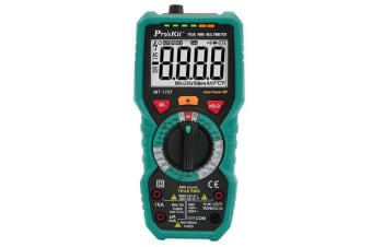 ProsKit MT-1707 3 5/6 True-RMS Multimeter Lcd Back Light Data Hold 2 Years Warranty
