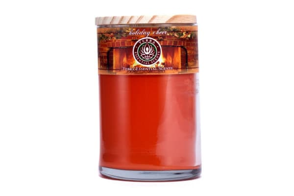 Terra Essential Scents Hand-Poured Soy Candle - Holiday Cheer (12oz)