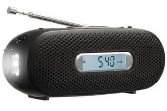 Panasonic Portable Am / Fm Travel / Emergency Radio Siren Rf-Tj10 Blk - Refurbished