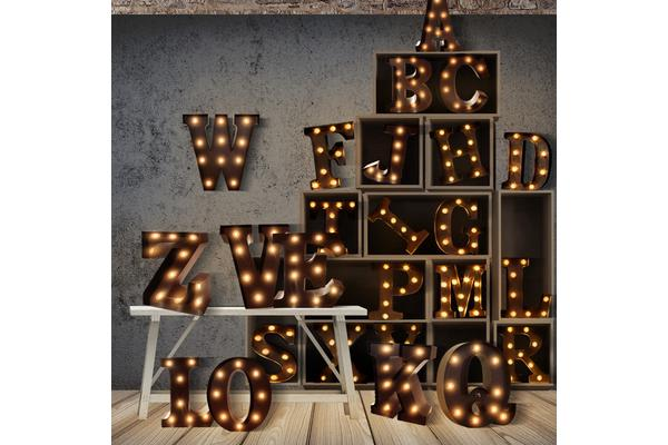 Alphabet LED Letter Lights V