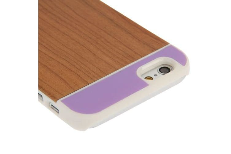For iPhone 6S 6 Case Middle Cherry Wood  Four Colors Durable Shielding Cover