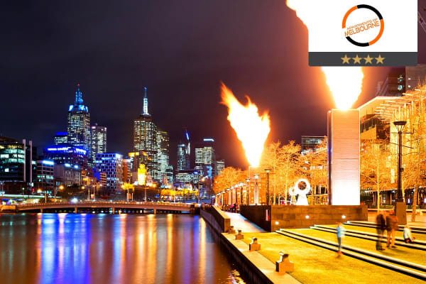 MELBOURNE: 3 Night Escape in a One Bedroom Apartment for Two