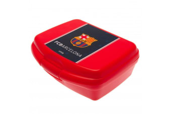 FC Barcelona Sandwich Box (Red) (One Size)