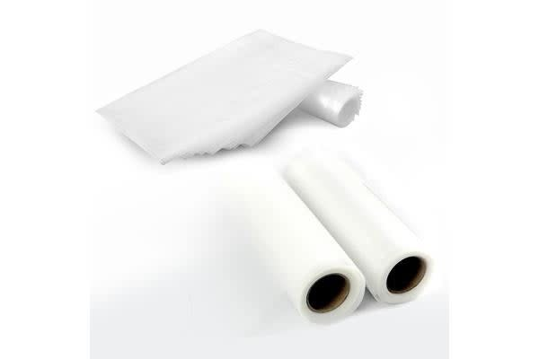 2 Rolls of Vacuum Food Seal Bag Commercial Heat Grade