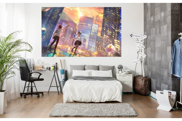 3D Your Name 67 Anime Wall Stickers Self-adhesive Vinyl, 50cm x 50cm(19.7'' x 19.7'') (WxH)