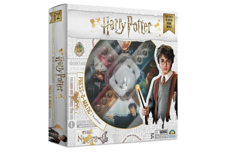Harry Potter Press O Matic Board Family Activity Fun Game Kids/Children Toys 3y+