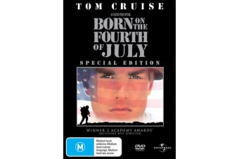 Born On the Fourth of July DVD Region 4