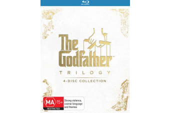 The Godfather Trilogy Box Set Blu-ray Region B