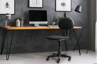 Ergolux Basil Office Chair (Black)