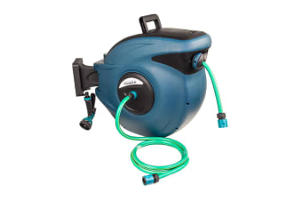 30m Retractable Water Hose Reel with Nozzle