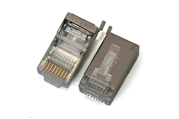RF Armor Shielded RJ-45 Connectors - 100 pack