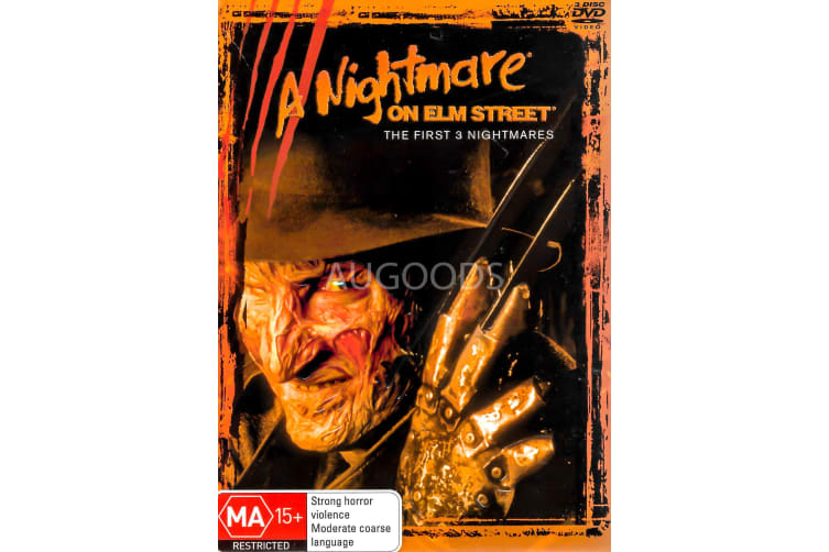 A Nightmare on Elm Street - Region 4 Rare- Aus Stock DVD PREOWNED: DISC LIKE NEW