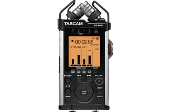 TASCAM DR-44WL Portable Handheld Groundbreaking Four-Track Recorder with Stereo Mics