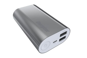 Energizer 10000mAh Power Bank - Silver (UE10008_SR)