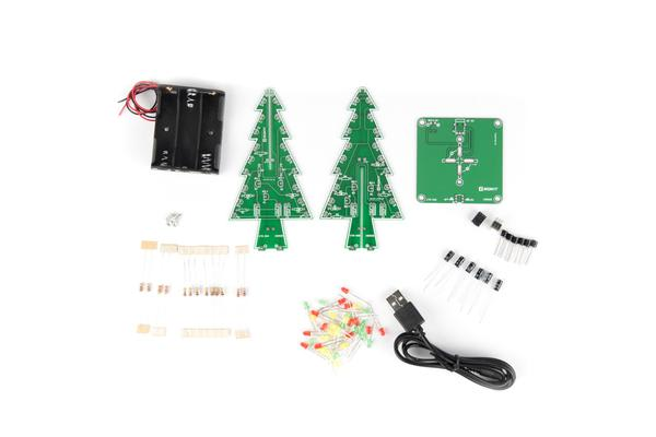 LED Christmas Tree - Learn To Solder Kit