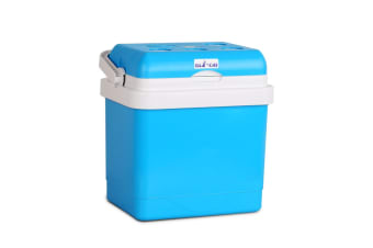 25L 2 in 1 Portable Cooler and Warmer (Blue)