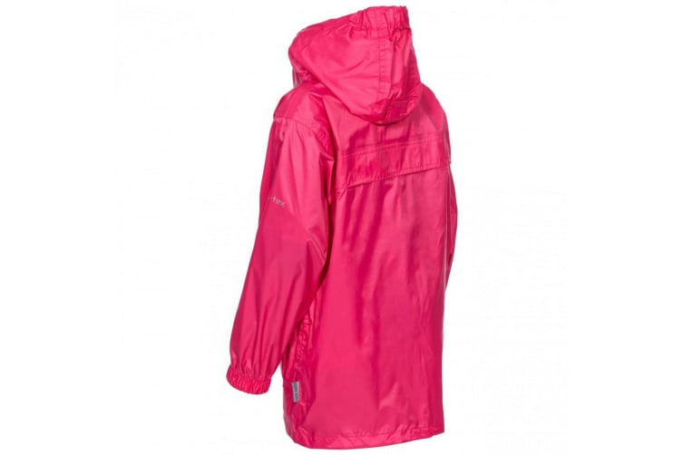 Trespass Kids Unisex Packa Pack Away Waterproof Jacket (Sorbet) (5/6 Years)
