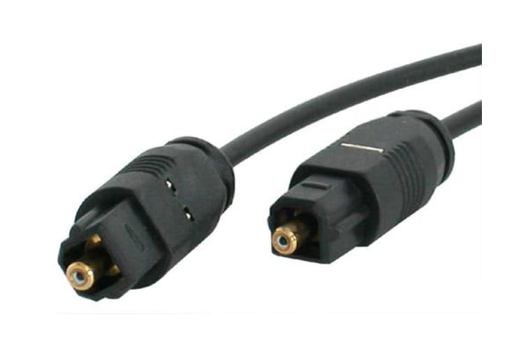 StarTech.com 6 ft Thin Toslink Digital audio cable 1.83 m Black