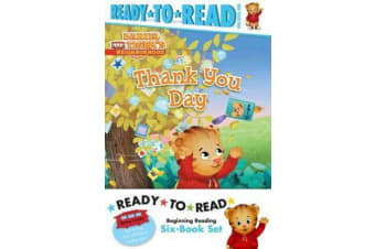 Daniel Tiger Ready-To-Read Value Pack - Thank You Day; Friends Help Each Other; Daniel Plays Ball; Daniel Goes Out for Dinner; Daniel Feels Left Out; Daniel Visits the Library