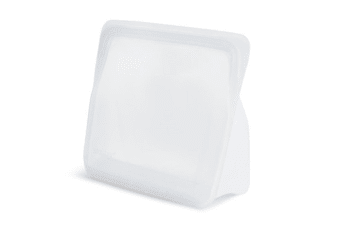 Stasher Reusable Silicone Stand Up Bag 1.66l-clear